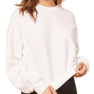 Reformation Jeans Tops - Reformation Jeans Cropped Hunter Sweatshirt Large